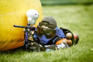 Paintball Spieler