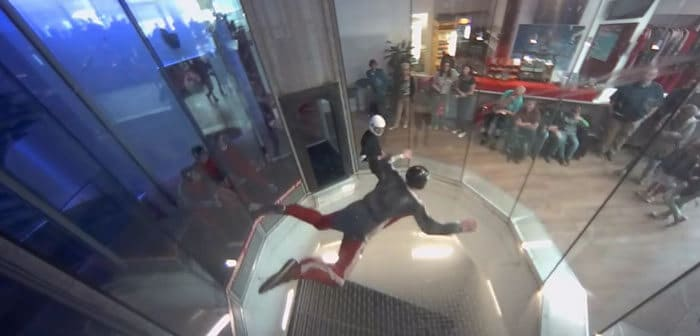 Indoor Skydiving in Bottrop