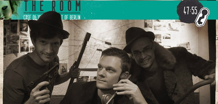 Team Foto The Room Berlin – escape game