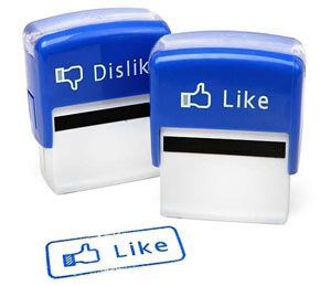 Facebook Like Stempel