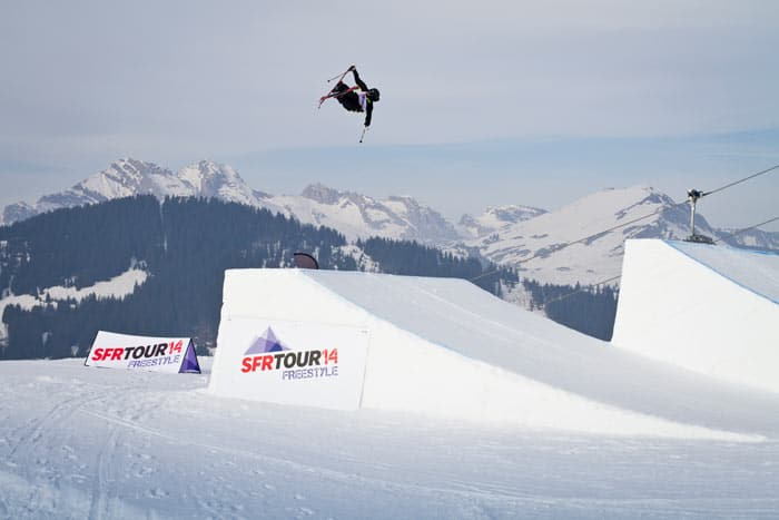 SFR Freestyletour Skier