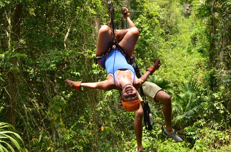 Selvatica - Geiles Zipline und Quad Adventure bei Cancun - MIT VIDEO 34
