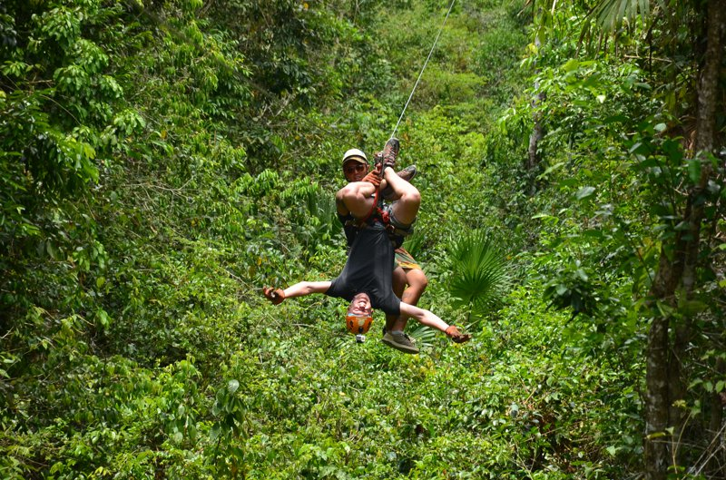 Selvatica - Geiles Zipline und Quad Adventure bei Cancun - MIT VIDEO 27