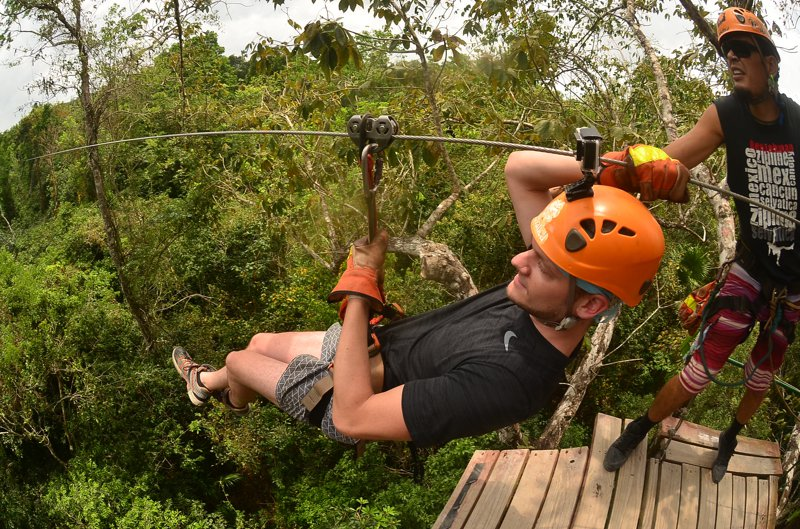 Selvatica - Geiles Zipline und Quad Adventure bei Cancun - MIT VIDEO 29