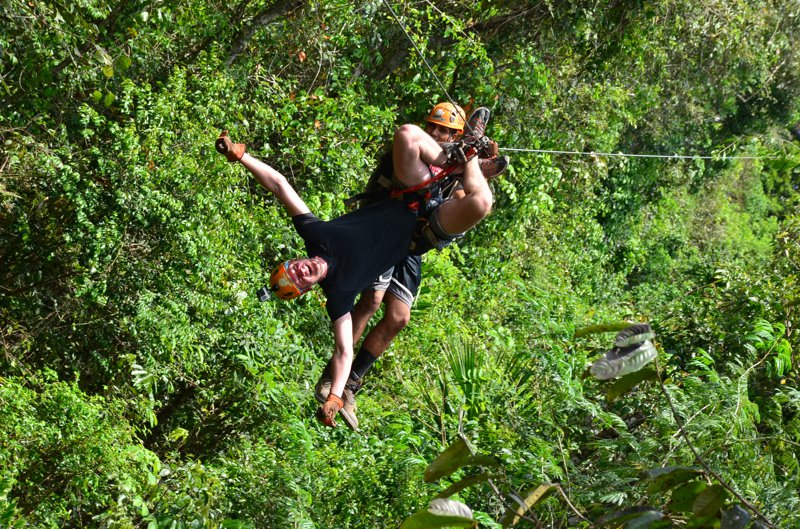 Zipline Mexiko Cancun