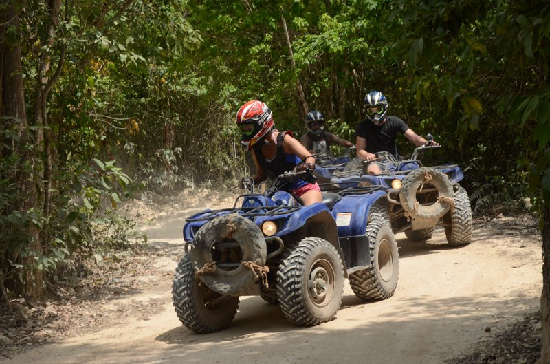 Mexiko Cancun Quad, ATV