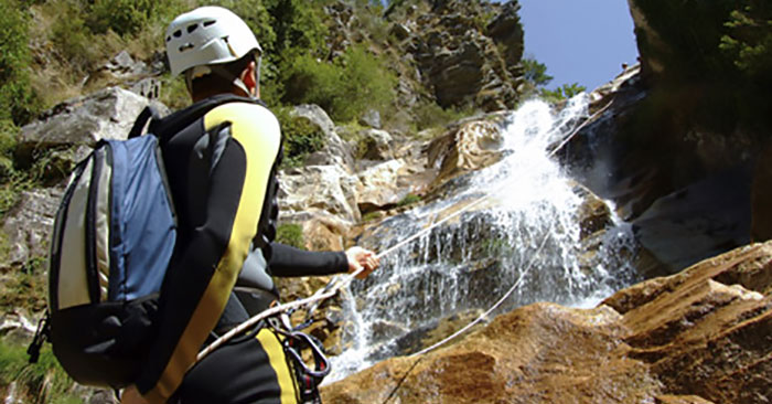 Canyoning in Sonthofen in Bayern