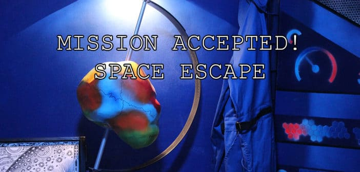 Space Escape Berlin Mission Accepted
