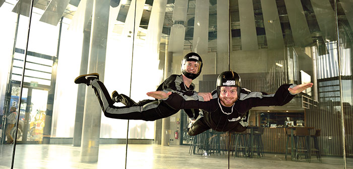 Bodyflying Indoor Skydiving Jochen Schweizer Arena Muenchen