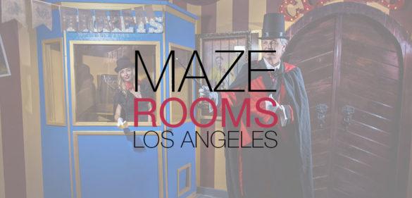 maze rooms los angeles room escape