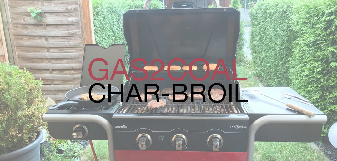 Gas2Coal Char Broil Titelbild