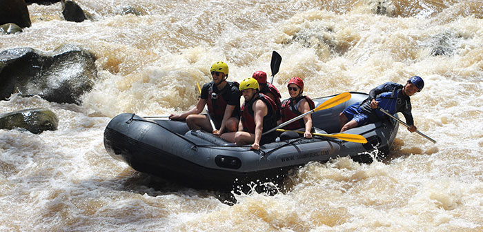 Whitewater Rafting Chiang Mai Thailand