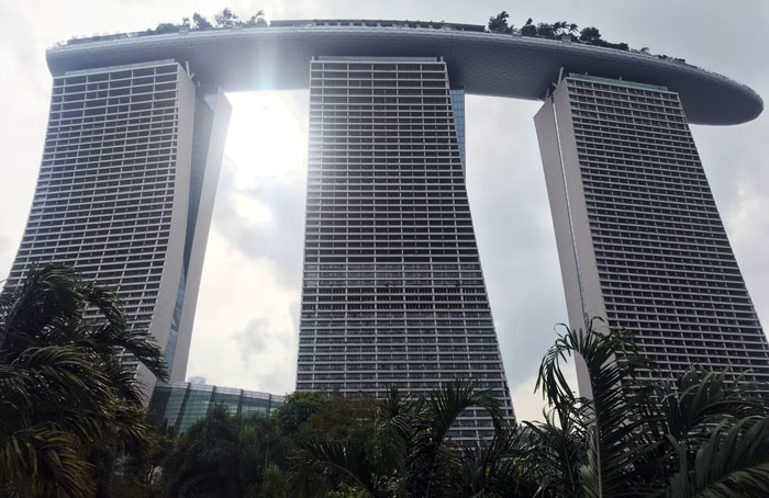 Marina Bay Sands Türme