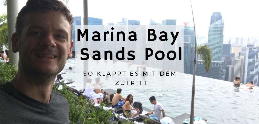 Swimming Pool im Marina Bay Sands