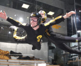Bodyflying in der Hurricane Factory Berlin im lebegeil Test