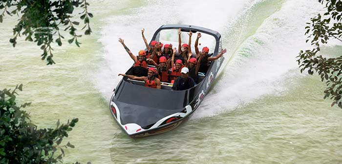 cancun vergnuegungspark xavage speedboat