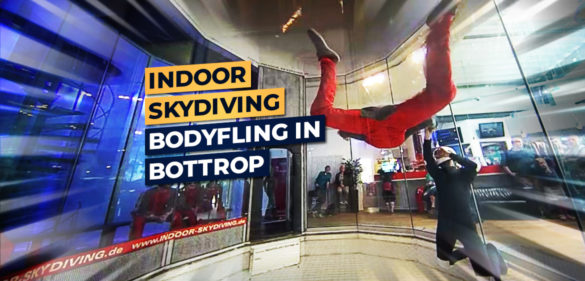 Bodyflying im Windkanal