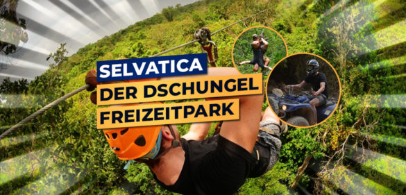 selvatica cancun ziplining mexiko