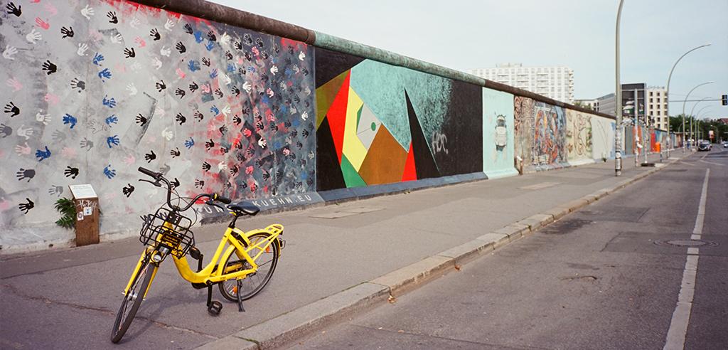 Fahrradtour Berliner Mauer - alternative Stadtfuehrung