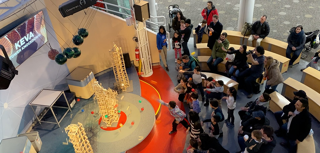 Aktivitaeten mit Kindern Vancouver - Science World