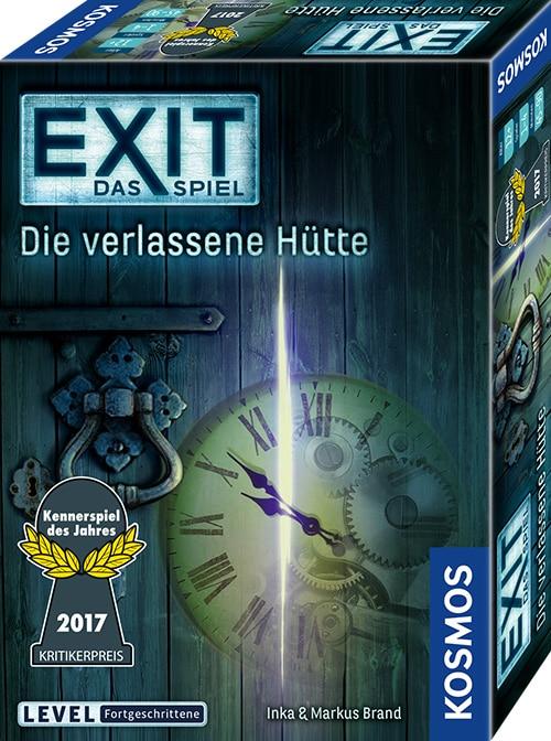 Escape-Spiele fuer zu Hause - EXIT Das Spiel