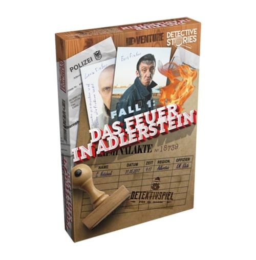 Escape-Spiele fuer zu Hause - iDventure Detective Stories. Fall 1: Das Feuer in Adlerstein