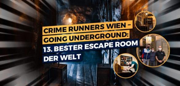 Crime Runners Wien – Going Underground: der 13. beste Escape Room der Welt 40