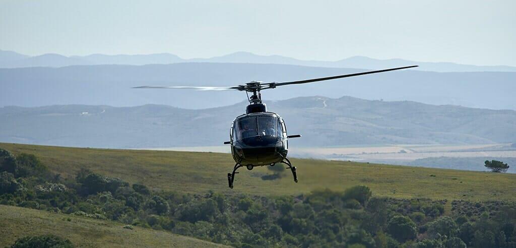 Helikopter selbst steuern in Deutschland - Moeglichkeiten