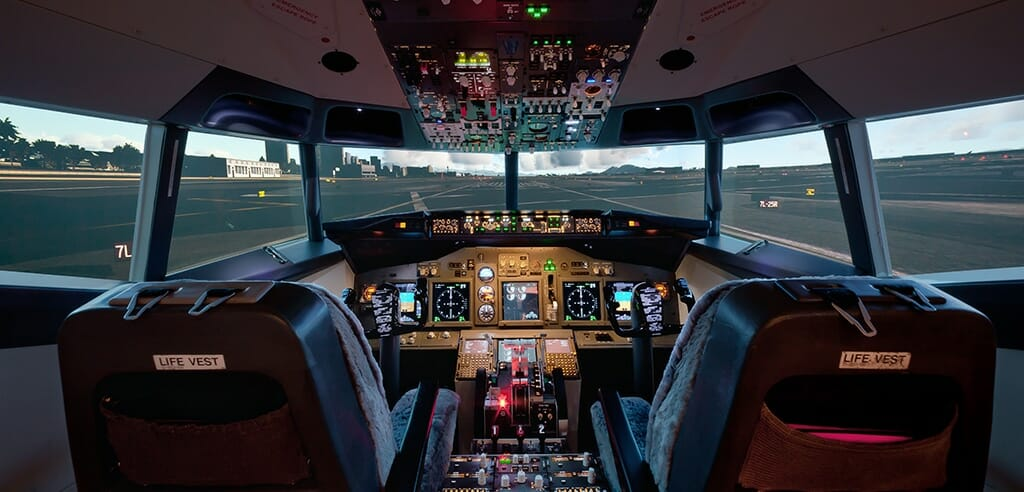 Flugsimulator Happy Landings als super Erlebnis in Hessen