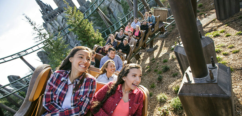 fuer Harry-Potter-Fans: Achterbahn Flight of the Hippogriff in Hollywood